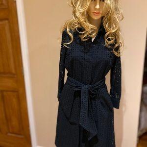 Polo Ralph Lauren Self-Belted Shirt Dress